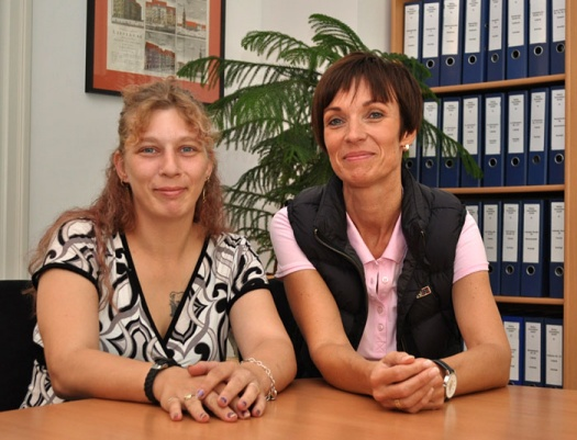 Tatjana Steyer und B. Malios - Leipziger Kinderstiftung