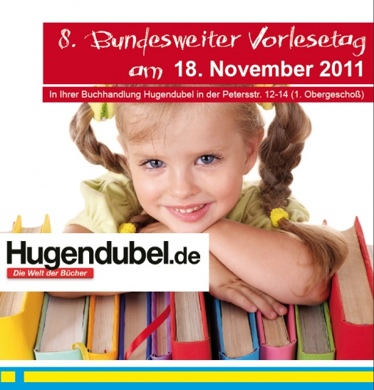 Vorlesetag mit Hugendubel - Leipziger Kinderstiftung