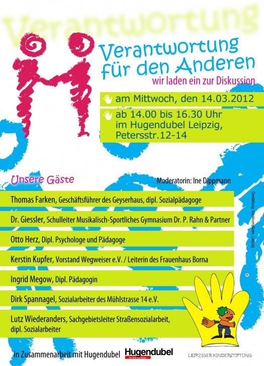 Verantwortung für den anderen Flyer - Leipziger Kinderstiftung