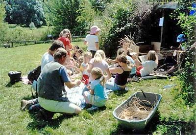 """Kinderbauerngut """"Lindenhof"""" in Langenstriegis - Leipziger Kinderstiftung"""