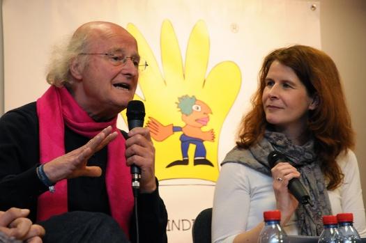 Otto Herz und Kerstin Kupfer - Leipziger Kinderstiftung