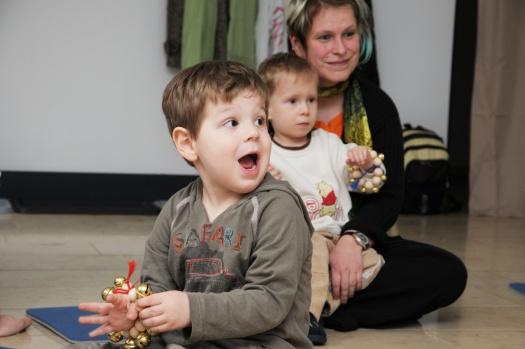 Erstaunte Gesichter - Leipziger Kinderstiftung