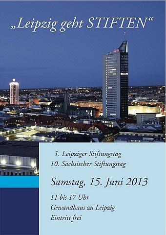 10. Sächsischer Stiftungstag - Leipziger Kinderstiftung