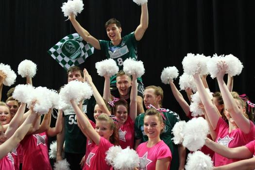Cheerleader des SC DHfK - Leipziger Kinderstiftung - Fotograf: Elmar Keil