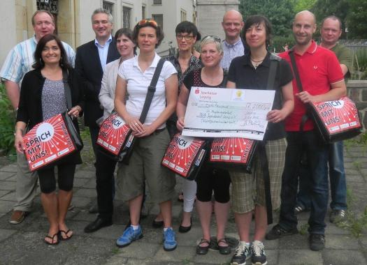 Kinderstiftung unterstützt Streetworker - Leipziger Kinderstiftung