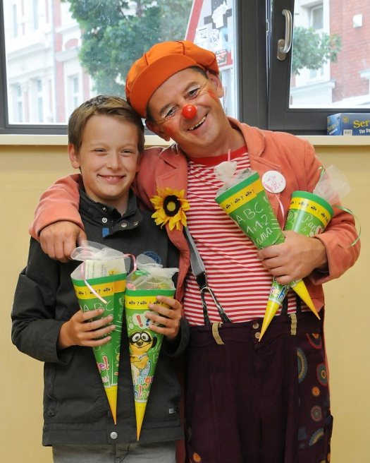 Feude bei der Aktion Zuckertüte - Leipziger Kinderstiftung