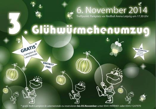 Glühwürmchenumzug - Leipziger Kinderstiftung
