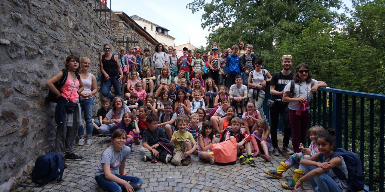 Gruppenfoto in Jihlava