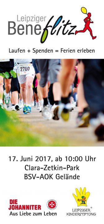 Flyer - 4. Leipziger Beneflitz 2017 Vorderseite
