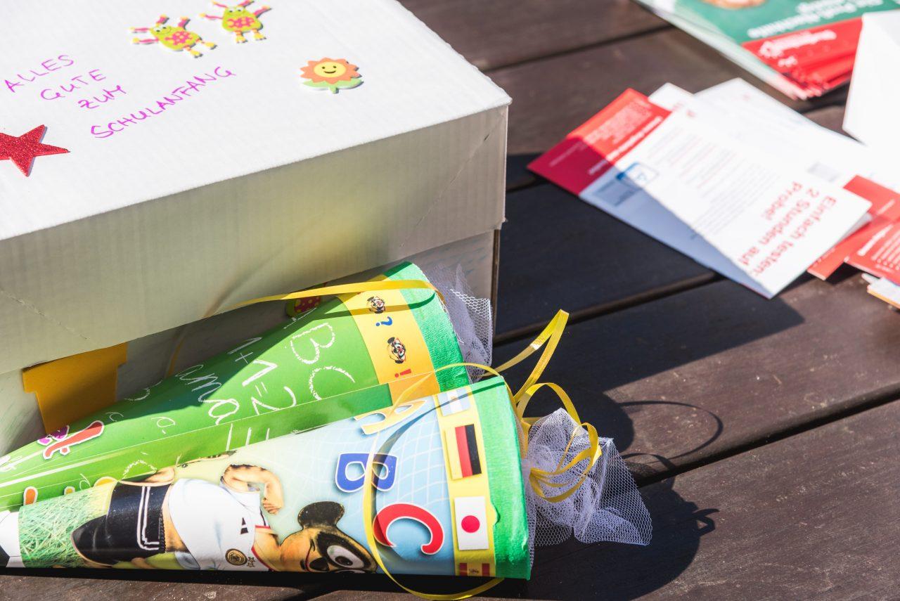 Schulanfang - Aktion Zuckertüte - Leipziger Kinderstiftung