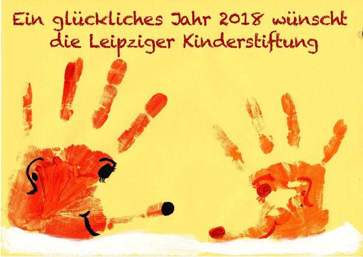 Silvestergruß 2017 - Leipziger Kinderstiftung