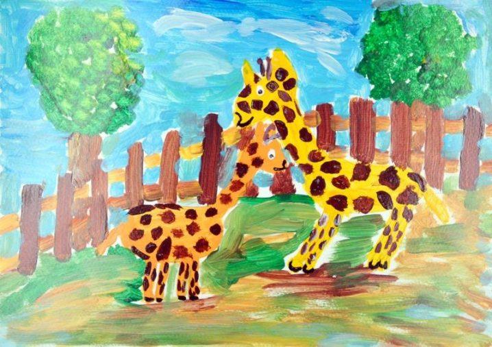 Giraffen im Zoo - Leipziger Kinderstiftung