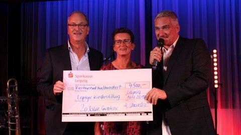 Eurotax Spendenübergabe an Leipziger Kinderstiftung