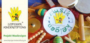 Flyer Musikreigen - Leipziger Kinderstiftung
