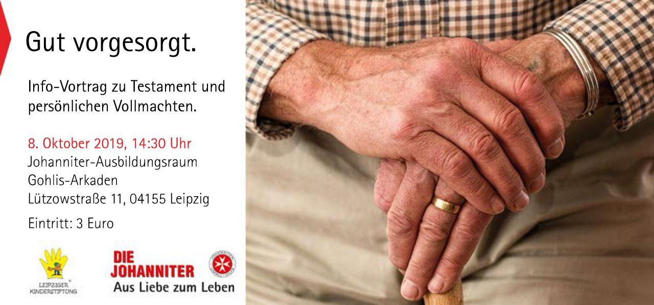"""Flyer Vorderseite für """"Forum Zukunft schenken"""" - Leipziger Kinderstiftung"""