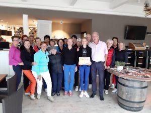 Golf Charity Turnier 2019 - Gruppenfoto mit Scheck