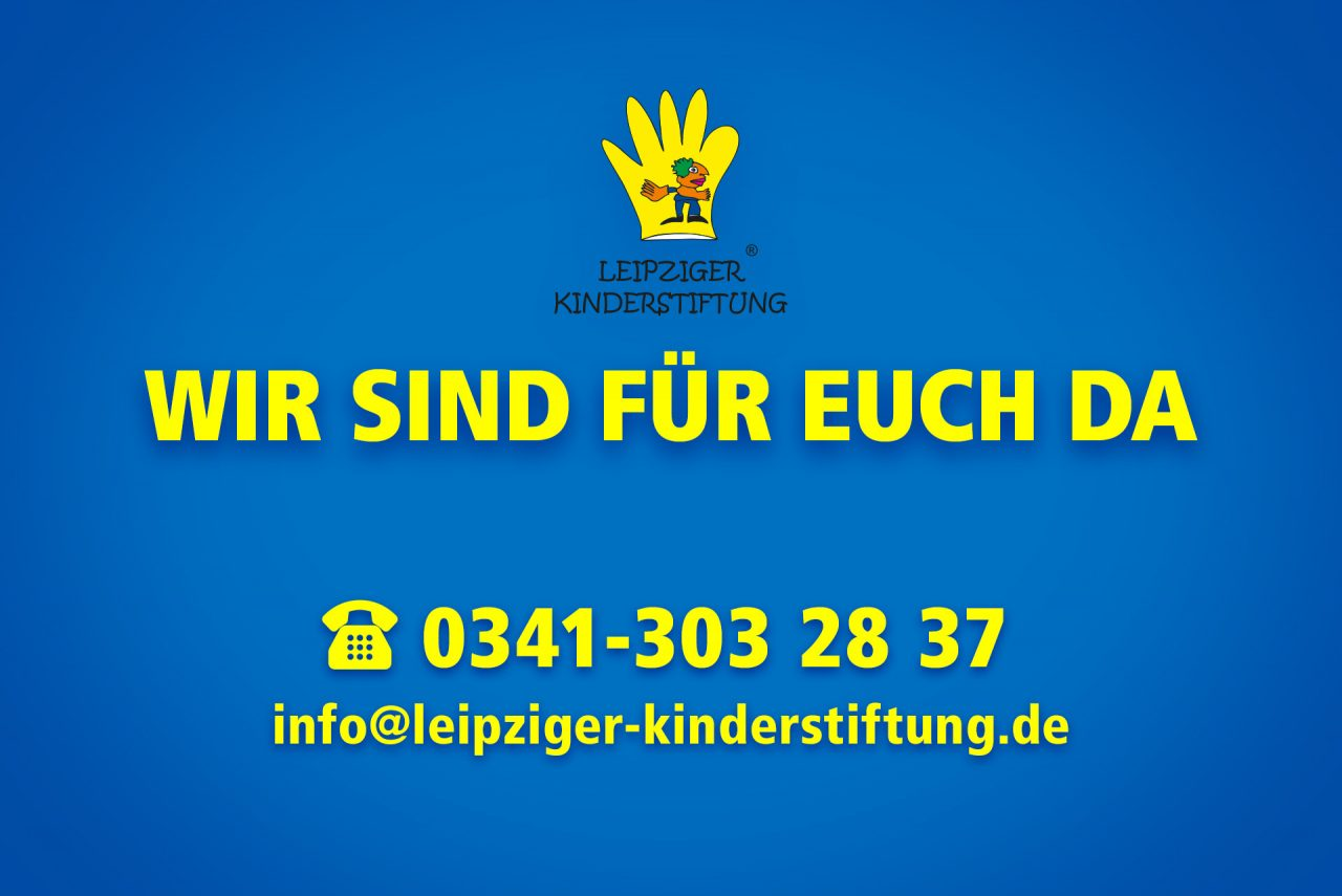 Wind sind für euch da! - Leipziger Kinderstiftung