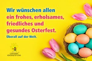Frohe Ostern 2020 - Leipziger Kinderstiftung