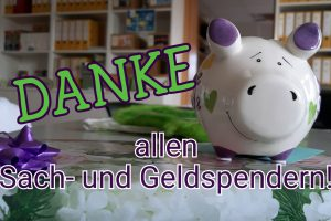 Dank an alle Spender - Leipziger Kinderstiftung - 2021