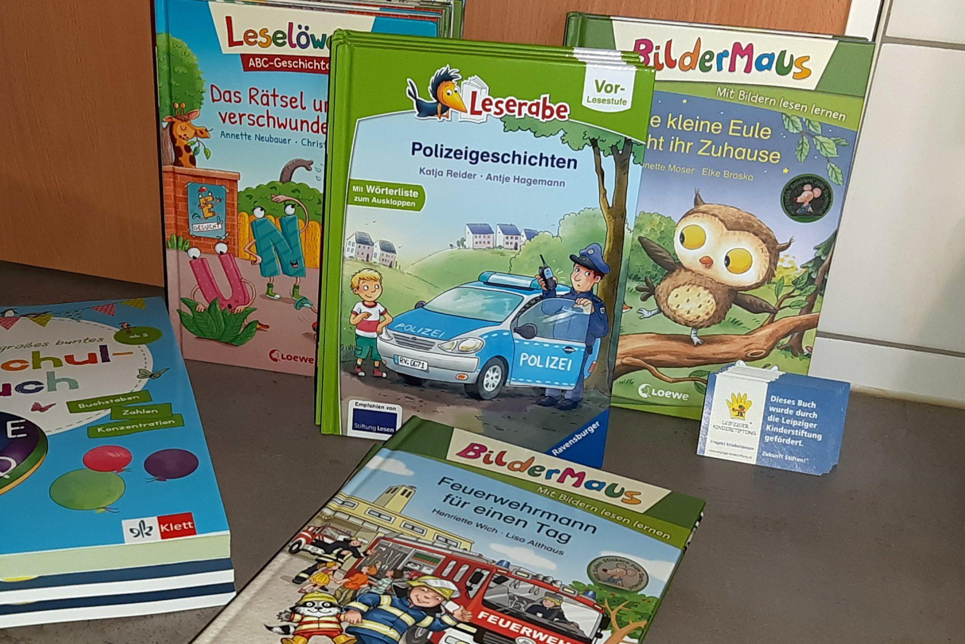 Bücher für Kitas - Leipziger Kinderstiftung - 2021