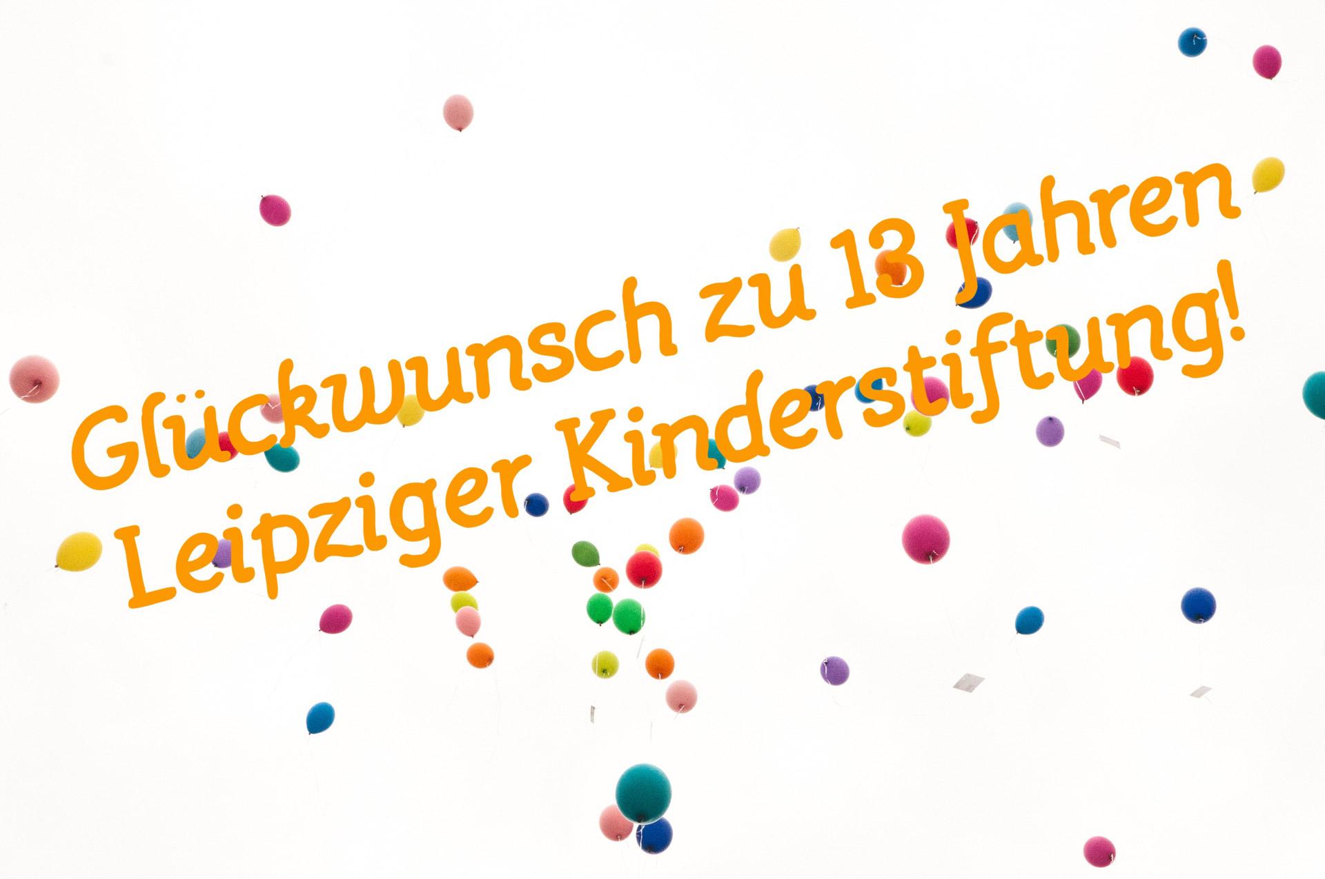 13 Jahre- Leipziger Kinderstiftung - 2021